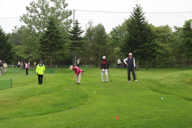2018パークゴルフ大会を開催しました