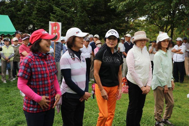 令和元年度パークゴルフ大会を開催しました