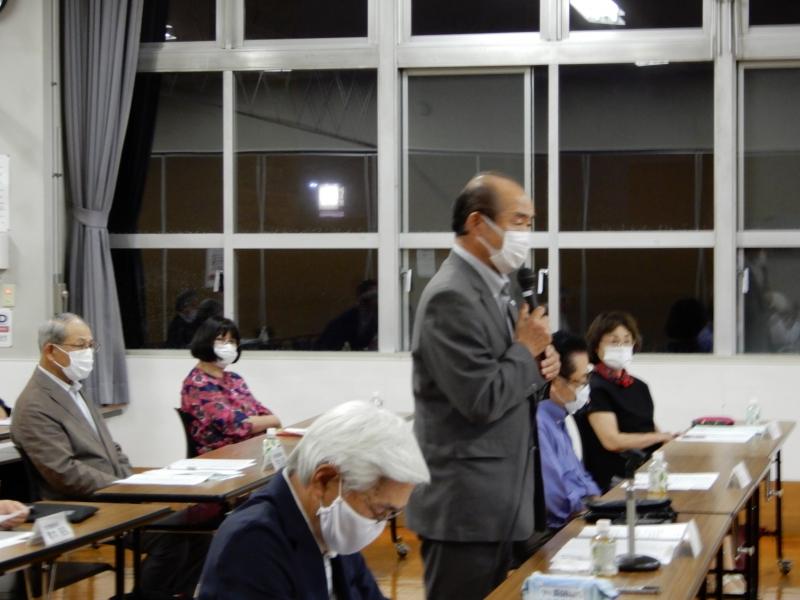 各町内会の個別要望に関する要望事項会議を開催しました。