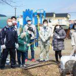 JR千歳駅東口周辺の清掃活動を実施しました。(末広各町内会)