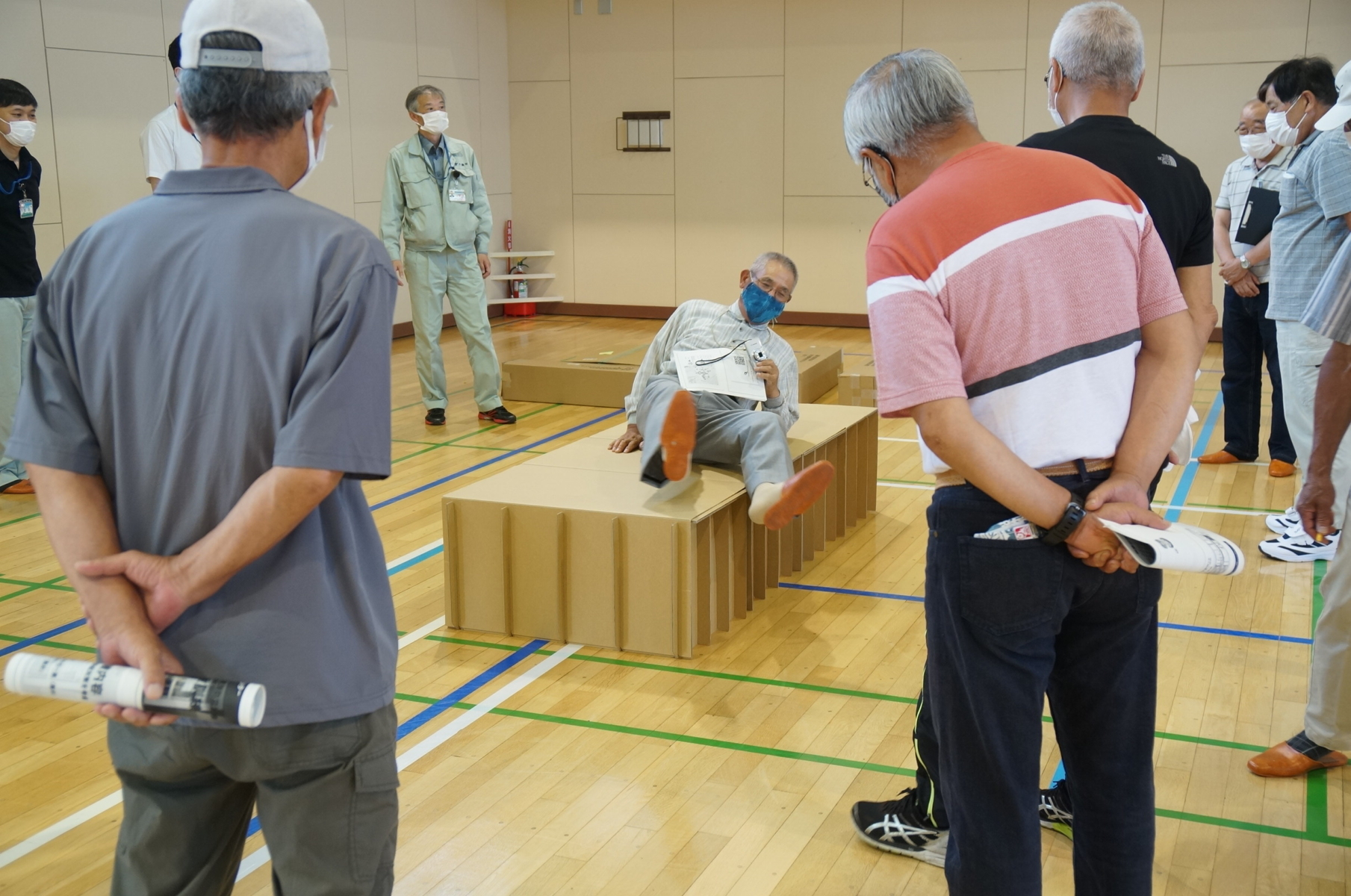 避難所開設訓練(鉄東コミュニティセンター)を実施しました。